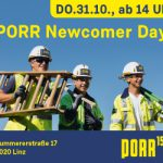 Porr Newcomer Day Ad